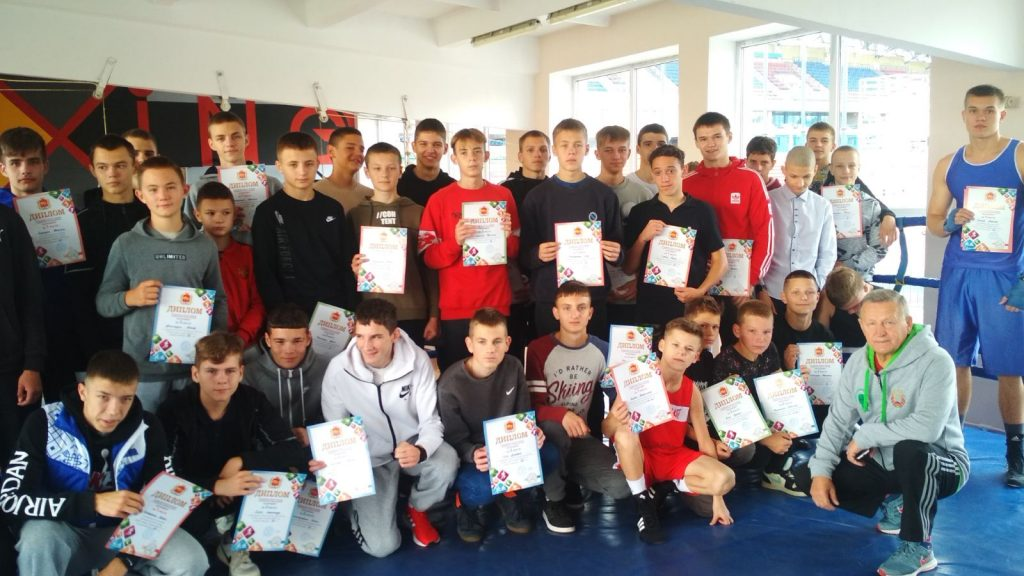 Определен победитель спартакиады ДЮСШ Гродненской области по боксу среди юниоров